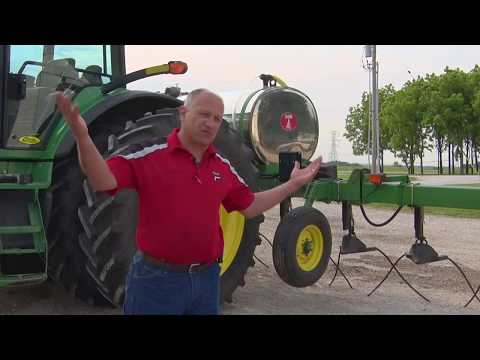 Widening The Application Window With 360 Y-DROP Sidedress