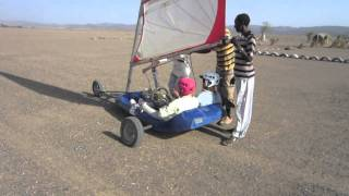 Land Sailing in Djibouti