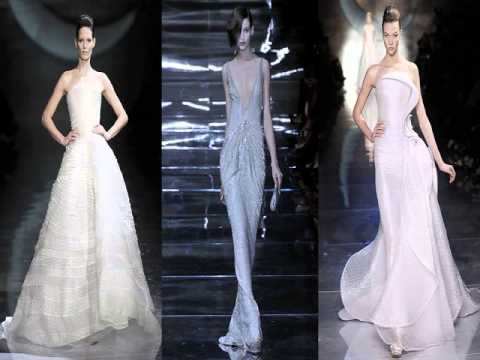 Armani Prive Wedding Gowns
