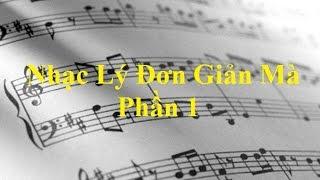 Nhạc Lý Đơn Giản Mà - Nhạc Lý Căn Bản - Khái Niệm Căn Bản (Phần 1)