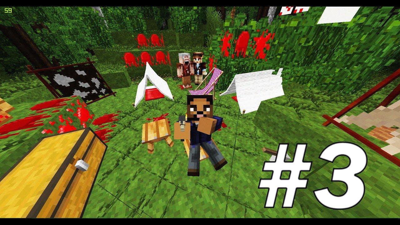 как играют в майнкрафт с модом на зомби апокалипсис #10
