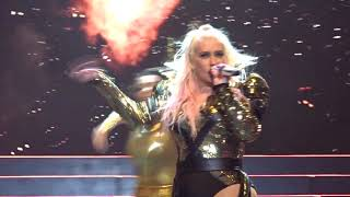 Download Christina Aguilera - Dirrty + Vanity + Express/Lady Marmelade - LIVE in Antwerp 06.07.2019 Mp3 and Videos