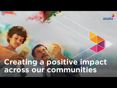 Creating A Positive Impact Across Our Communities | Axiata Sustainability Video 2019