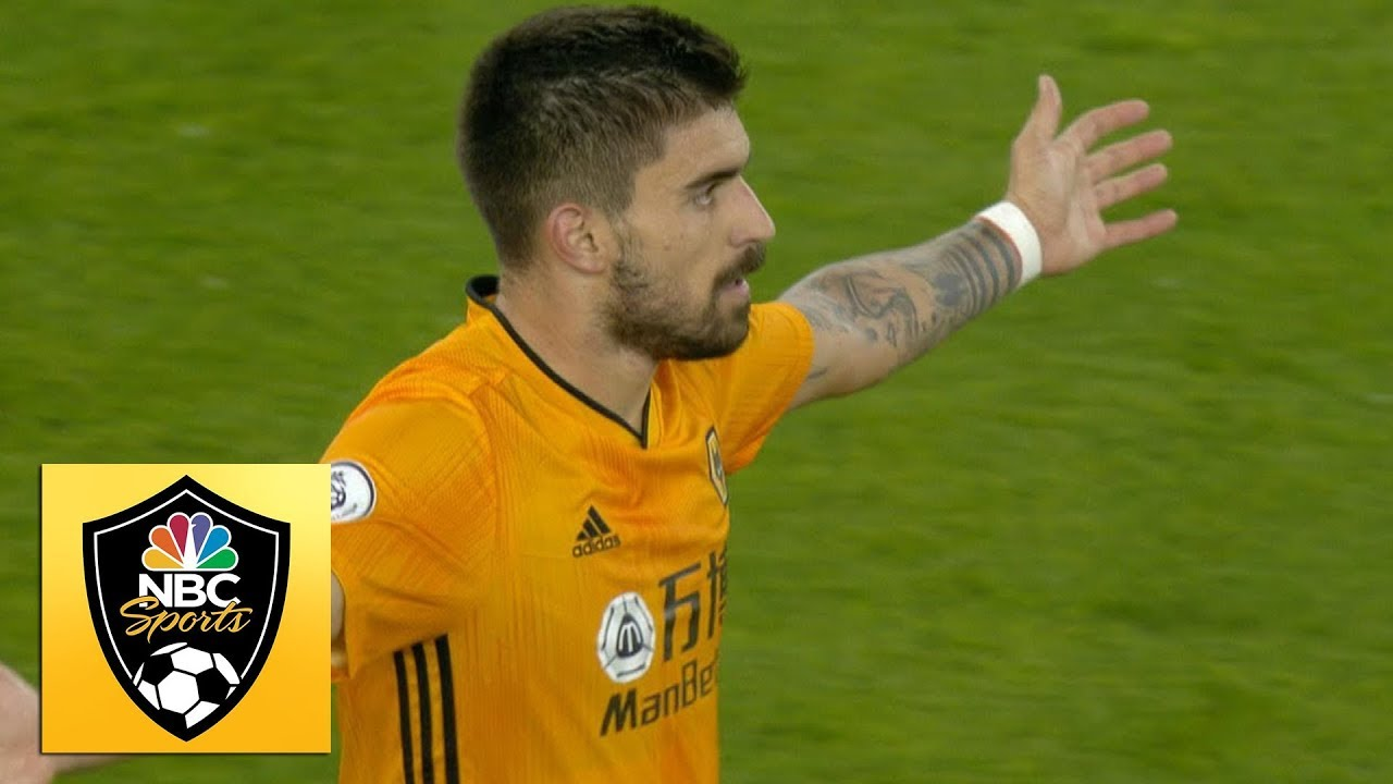 Ruben Neves equalizes with goal of the season contender v. Man Utd | Premier League | NBC Sports