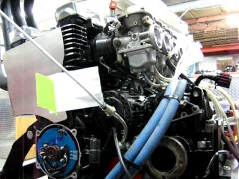 Legends car cylinder cooling kit.AVI - YouTube