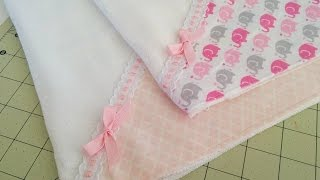 Pano de boca – Enxoval de bebê – Dreams Factory by Jeane