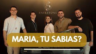 Música: Maria, tu sabias? (Mary did you know - versão em português)...