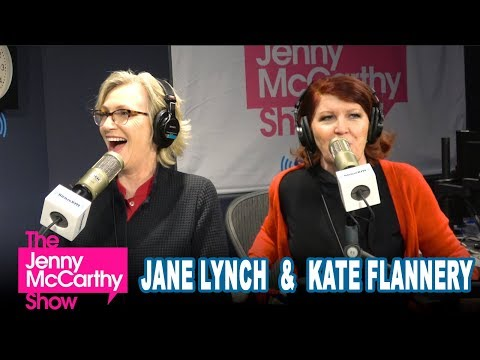 Jane Lynch and Kate Flannery on The Jenny McCarthy