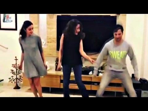 Madhuri Dixit Teaching Alia Bhatt, Varun Dhawan Dance On Tamma Tamma Song