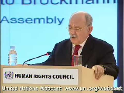 Most gross violations of Human Rights are committed by our very own Member States (GA President)
