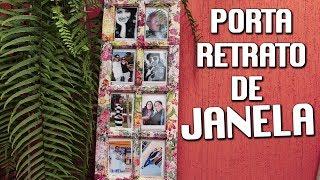 PORTA RETRATO COM JANELA DE DEMOLIÇÃO