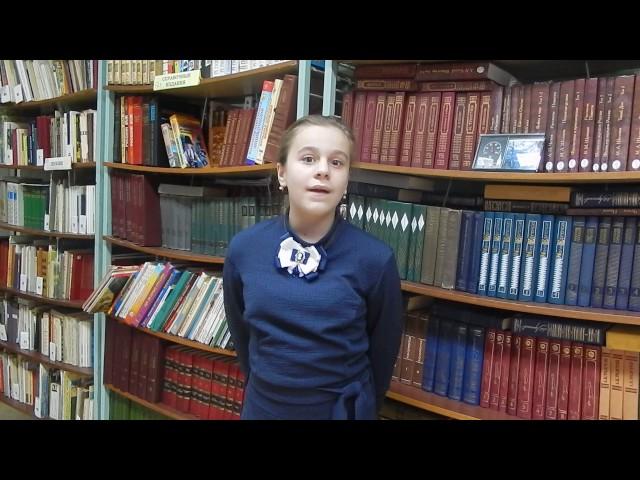 Изображение предпросмотра прочтения – ЕлизаветаСтарикова читает отрывок изпроизведения «Бородино» М.Ю.Лермонтова