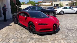 2019 Bugatti Chiron Sport startup Beverly Hills 1 of 1 Geneva Motor Show