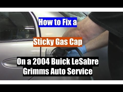 How to Fix a Sticky Gas Cap on a 2004 Buick LeSabre