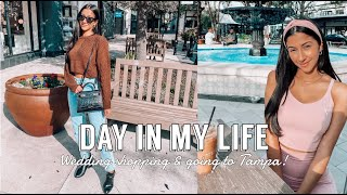 DAY IN MY LIFE ft. Teddy Blake (Wedding shopping, going to Tampa, photo shoot etc)