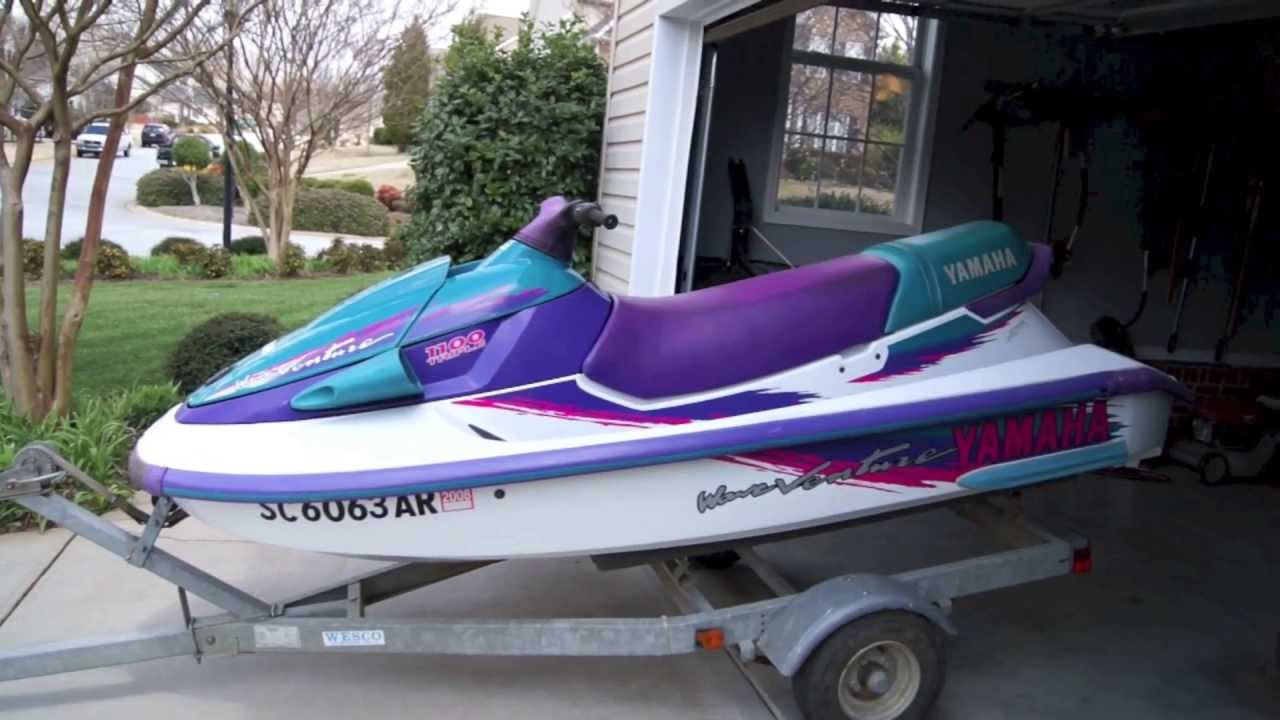 1996 Waveventure 1100 Rebuild And Restoration