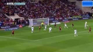 Spain vs Georgia 2-0 Goal Juan Mata All goals World cup 2014  15/10/2013