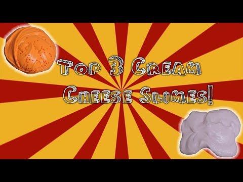 My Top 3 Best Cream Cheese Slimes!
