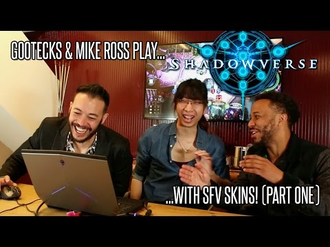 SFV x SHADOWVERSE! Gootecks & Mike Ross Play Shadowverse Pt. 1 (Sponsored) - 동영상