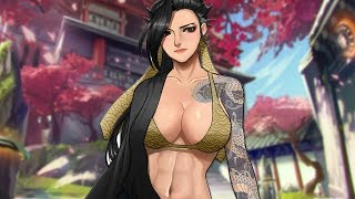 When A Girl Plays Hanzo - Overwatch