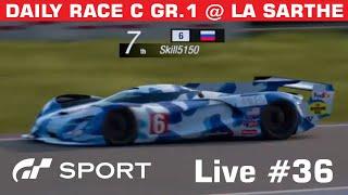 Gran Turismo Sport Live #35 -- Daily Race C Gr.1 @ Sarthe