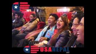 Deepakraj Giri and Jitu Nepali Comedy In 7th Dcine Award