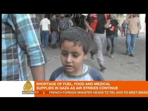 Conflict places stress 'specifically on children' of Gaza