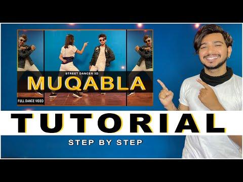 Muqabla Dance Tutorial | Step By Step |  Vicky Patel Choreography | New Bollywood hip hop