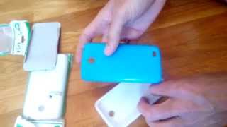 Чехол-бампер для смартфона Lenovo a516  (обзор)