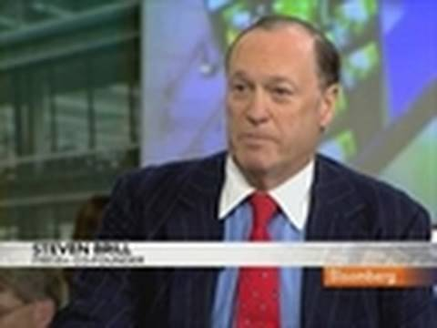 Brill Says Press+ Software Lets Publishers Levy Web Fees: Video