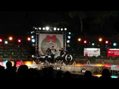高松高校ダンス部④ 高松冬のまつり2016.12.22
