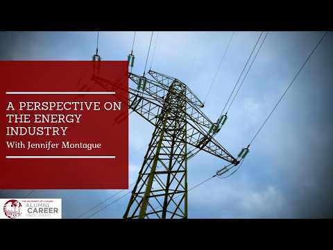 Career Month  A Perspective on the Energy Industry with Jennifer Montague