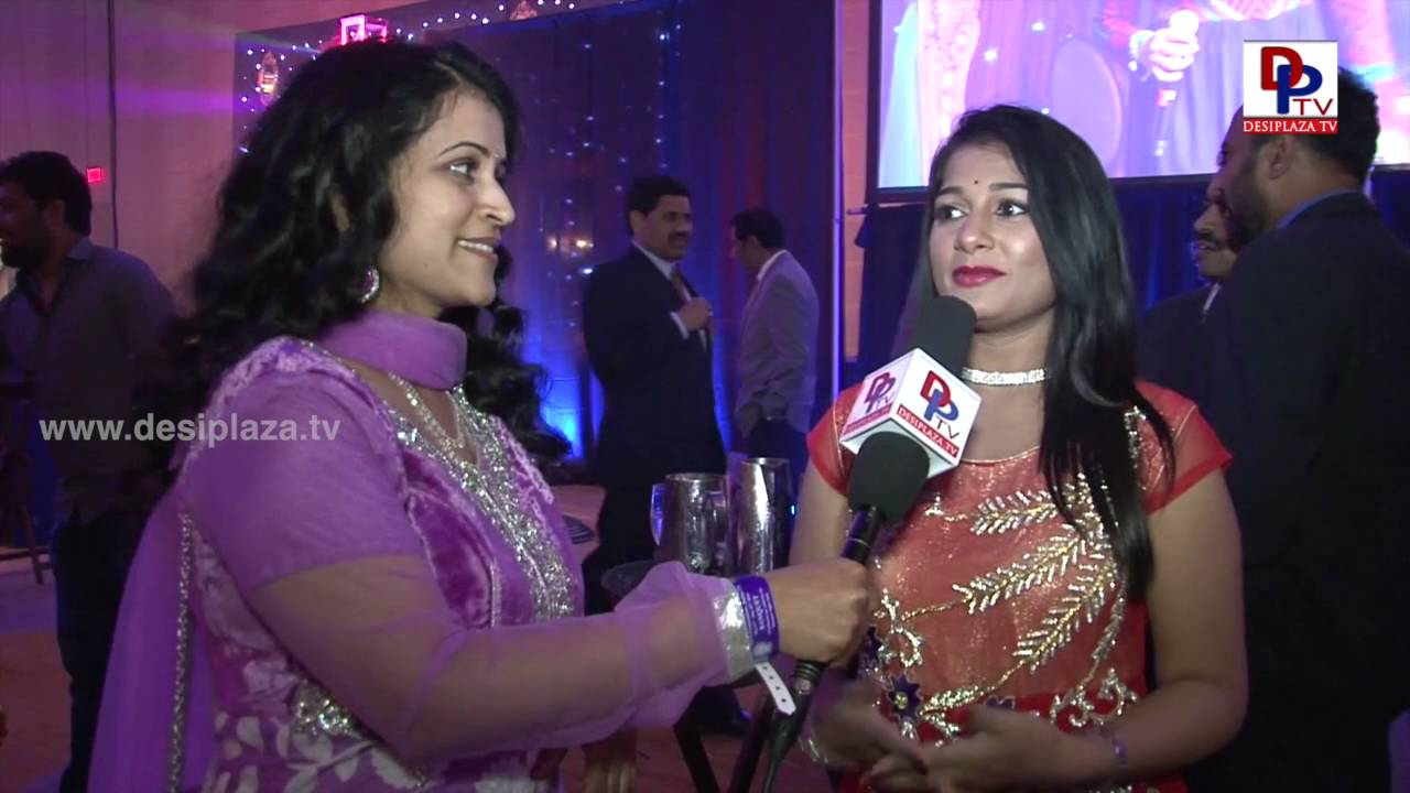 Tollywood Anchor Pinky  at NATA Convention Banquet 2016