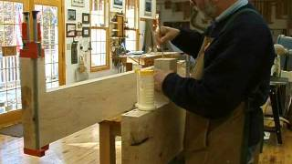 Making A Fireplace Mantle Part 7, Joinery: Andrew Pitts~furnituremaker