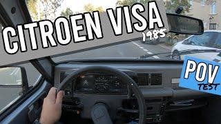 1985 citroen visa | 0.6 petrol | POV test drive | #03