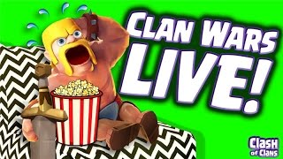 """""""Clan Wars Live"""" Clash Of Clans - Another Epic War Ends!"""