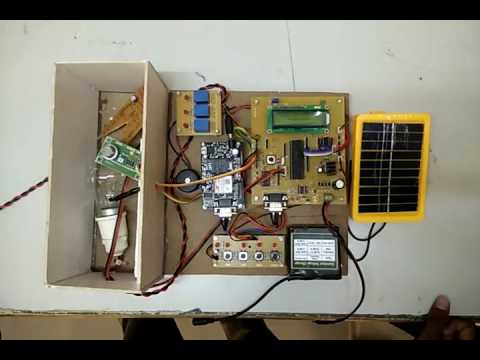 Novel Fully Automatic Solar Powered  Poultry  Incubator VTHT  College  Avadi