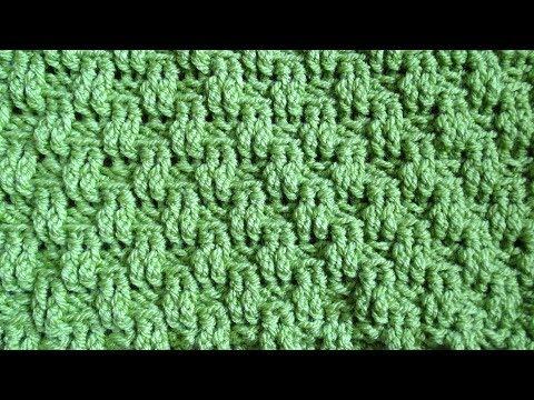 Basket Weave Stitch Version 2 - Right Handed Crochet Stitch Tutorial