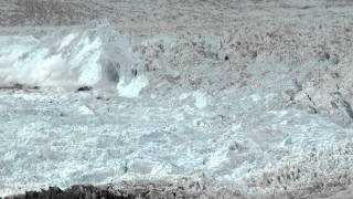 """CHASING ICE"" captures largest glacier calving ever filmed"