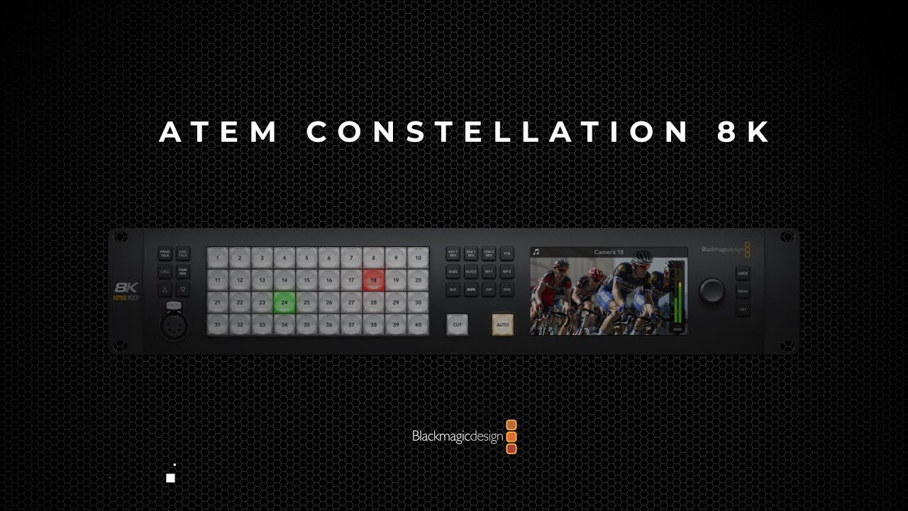 Blackmagic Design Atem Constellation 8k Youtube