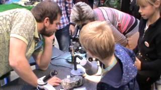 Стенд Лицея №1553. Геология. Работа с микроскопами