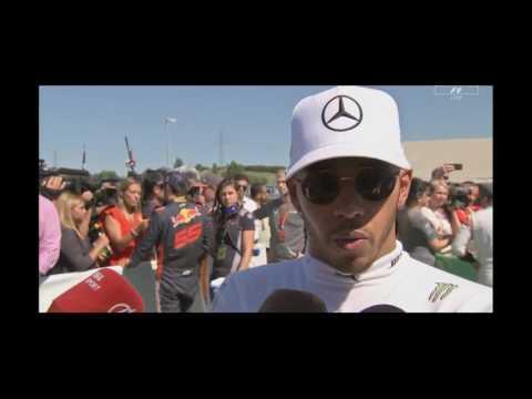 Interview Hamilton post qualy P4 Hungary F1 2017