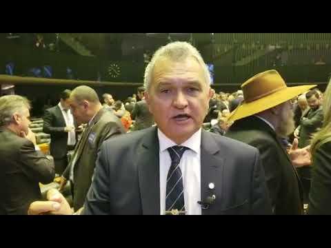 (VÍDEO) Após tomar posse, Girão diz que Brasil cansou da mesmice e quer mudança