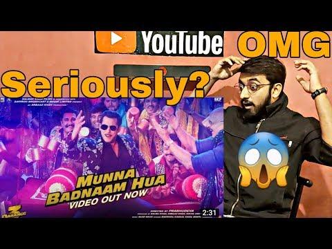 Pakistani Reaction on Dabangg 3: Munna Badnaam Hua Video | Salman Khan | Badshah,Kamaal K, Mamta S