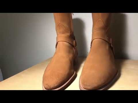 Story Et Fall Harness Boots  / On Feet