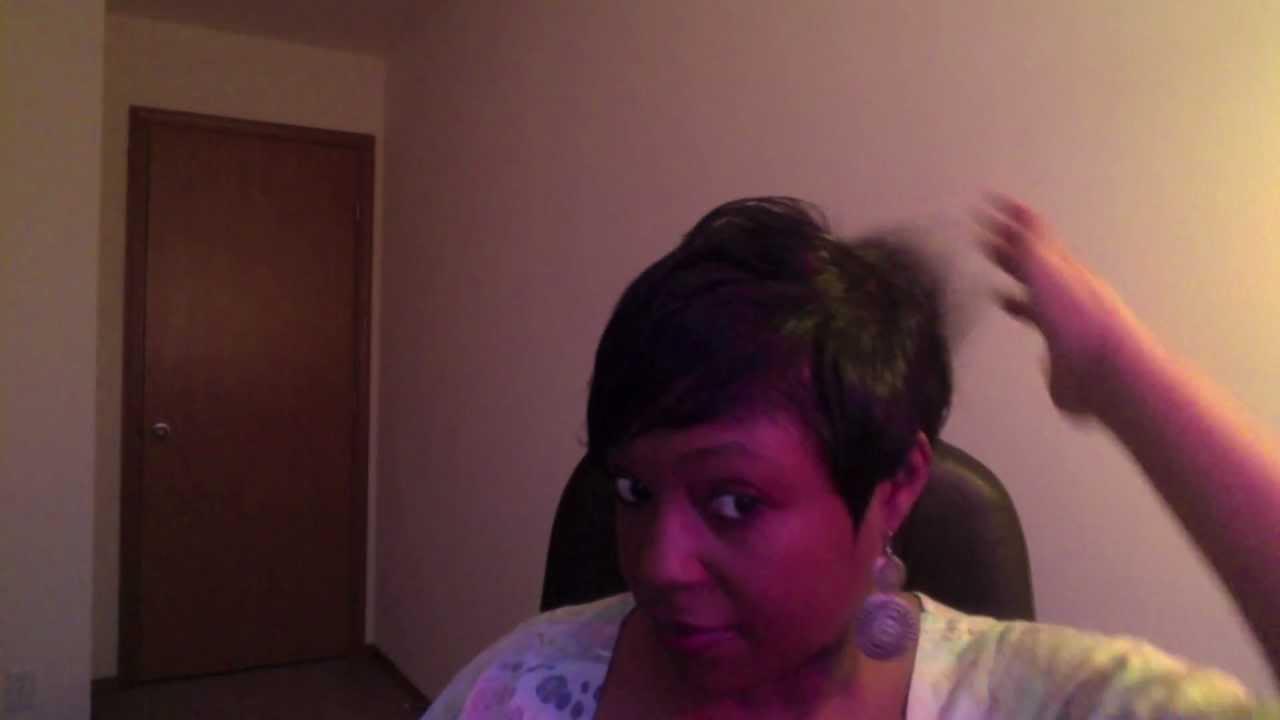 Short Hair Tutorial NeNe Leakes Inspired Hairstyle  YouTube
