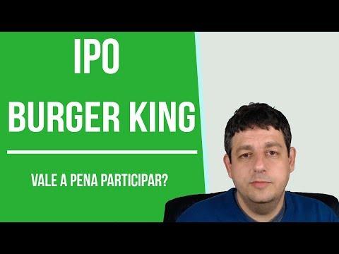 Dica de Hoje - IPO Burger King (BKBR3)