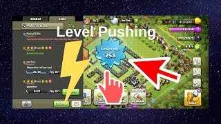 Clash Of Clans pushing | Clash Bugs | req and leave clan | Req N Go| Cheat|hack | Road to level 300