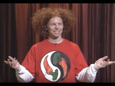 Carrot Top & His Box Of Mysteries 1995  MDA Telethon