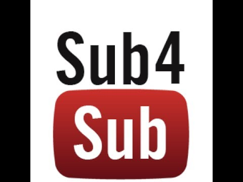 SUB 4 A SUB LIVE STREAM GET SUBS FAST!!!! FEATURING AUTOMATIC SUB WALL